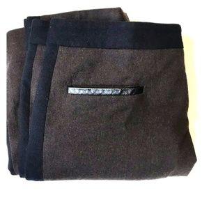 Club Monaco sz 2 wool color block pants